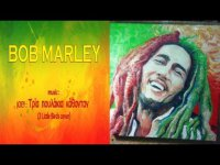 ART BY CHRIS MUSPAINT - PAINTING BOB MARLEY  [ Music by JOEY ]