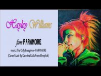 ART BY CHRIS MUSPAINT - PAINTING HAYLEY WILLIAMS from PARAMORE